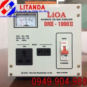 bảng giá ổn áp lioa 1kva DRII – 1000